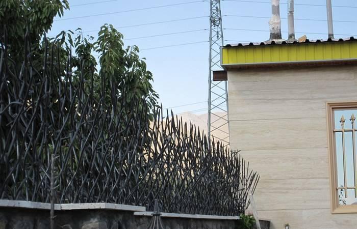 حفاظ شاخ گوزنی مشکی با تراکم 15 ردیف