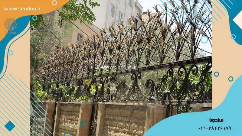 حفاظ روی دیوار لیلیومی